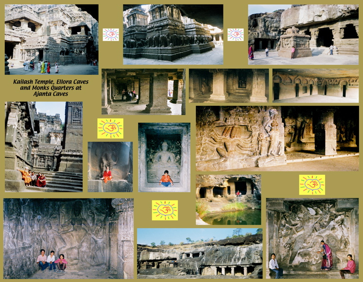 Caves & Kailash Temple